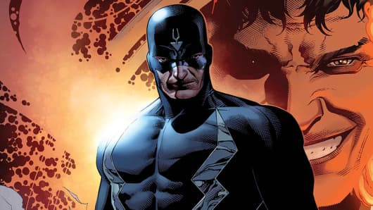 The Inhuman's Black Bolt. Artist: Jim Cheung.