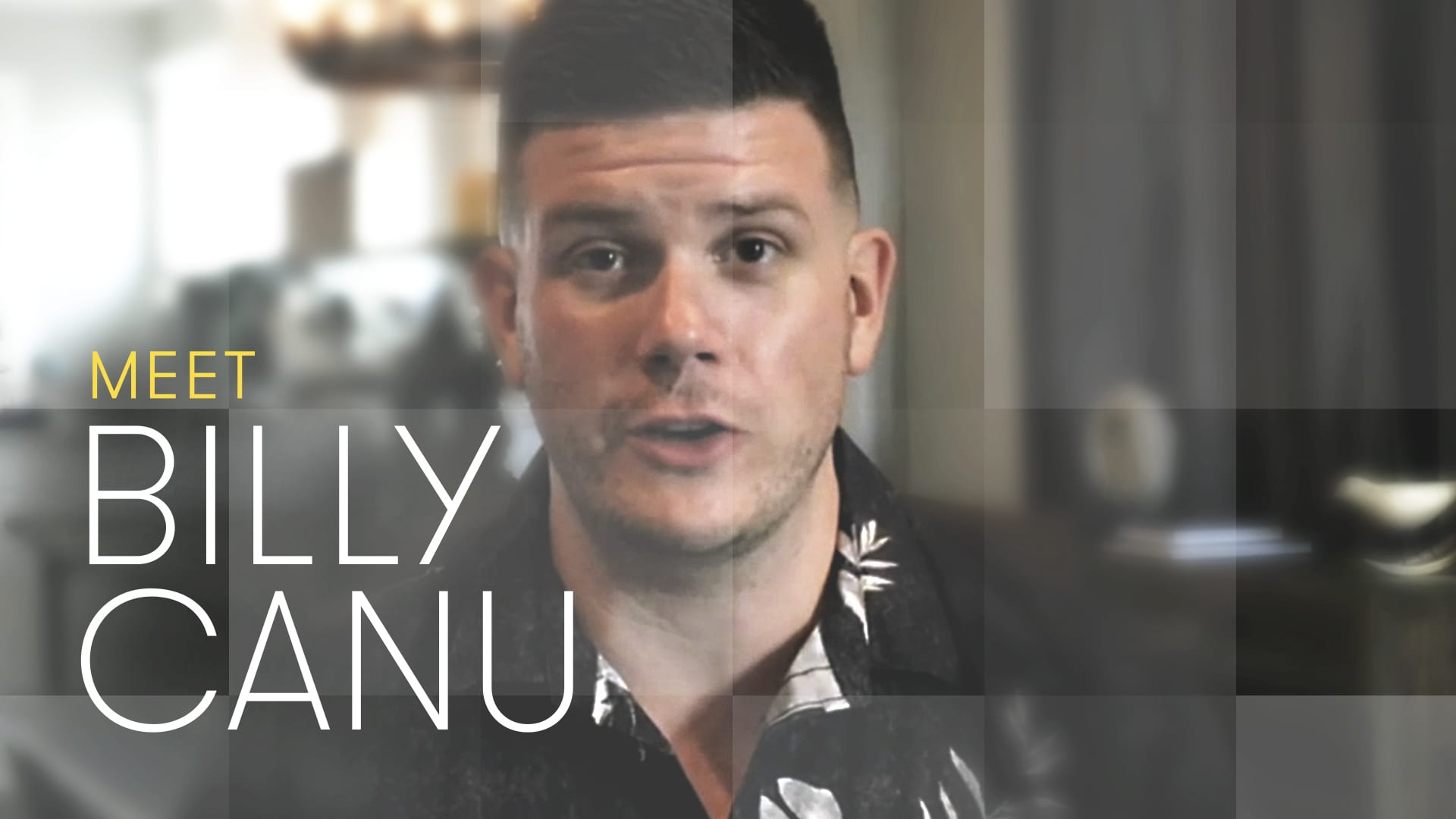 The Partner contestant Billy Canu