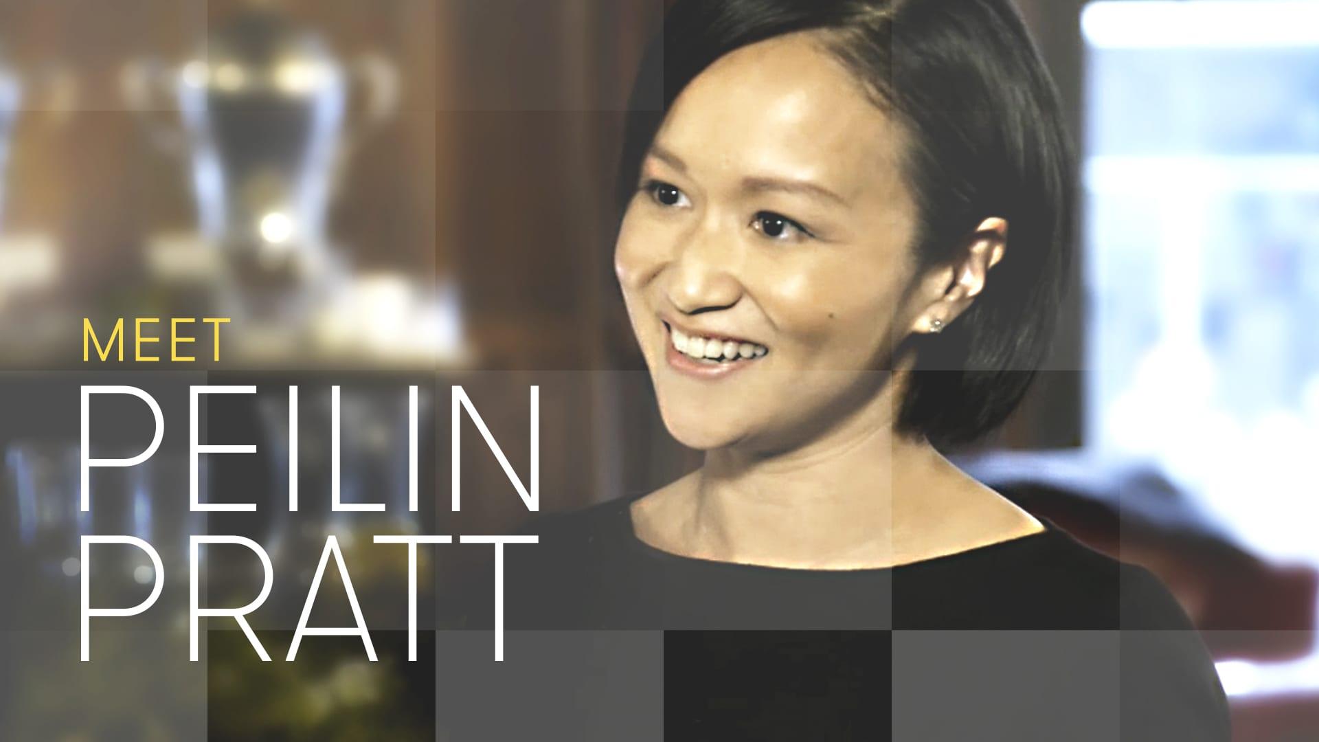 The Partner contestant Peilin Pratt
