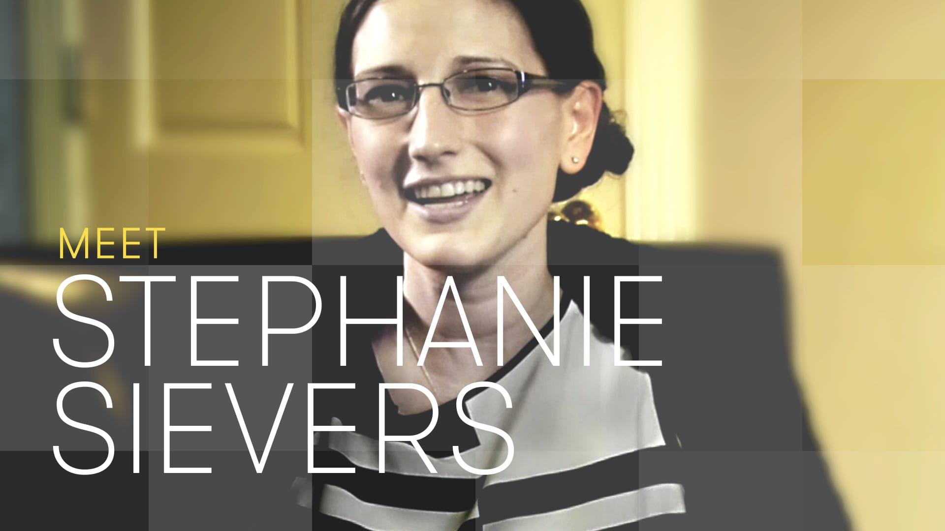 The Partner contestant Stephanie Sievers