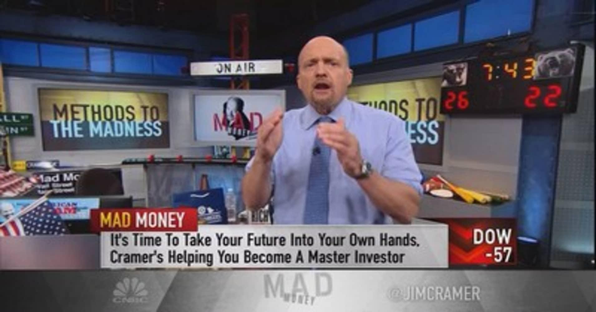 Cramer unveils his secret method to picking a stock