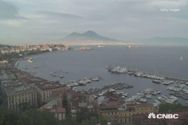 Supervolcano rumbling under major Italian city