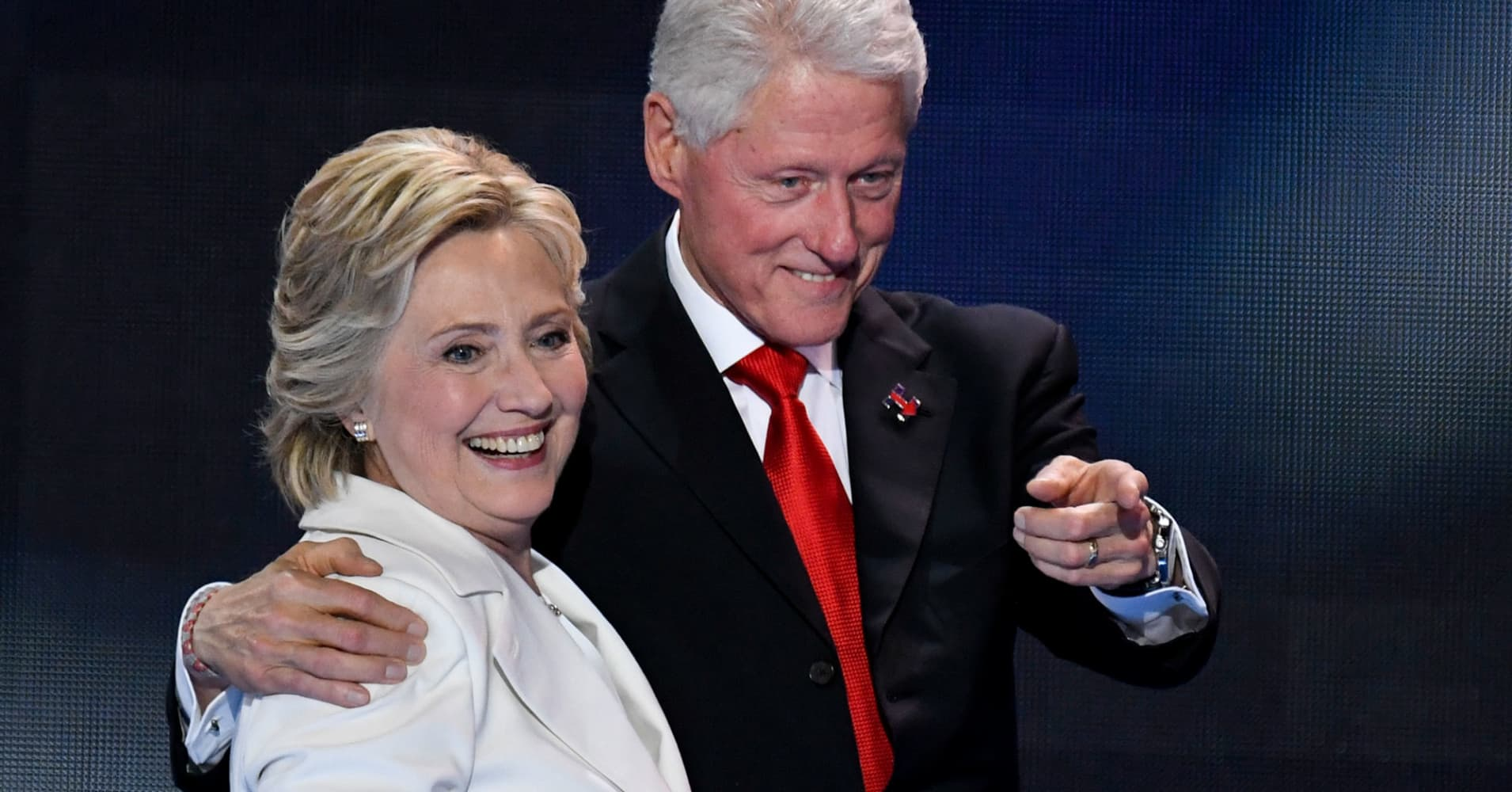 How the Clintons erased $16 million in debt in 3 years and ended up worth $45 million