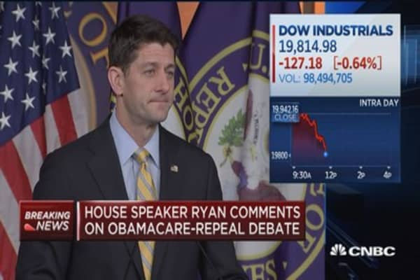 Ryan: Our legislation on Obamacare will occur this year