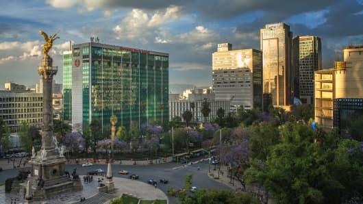 El Angel de Independencia, in Mexico
