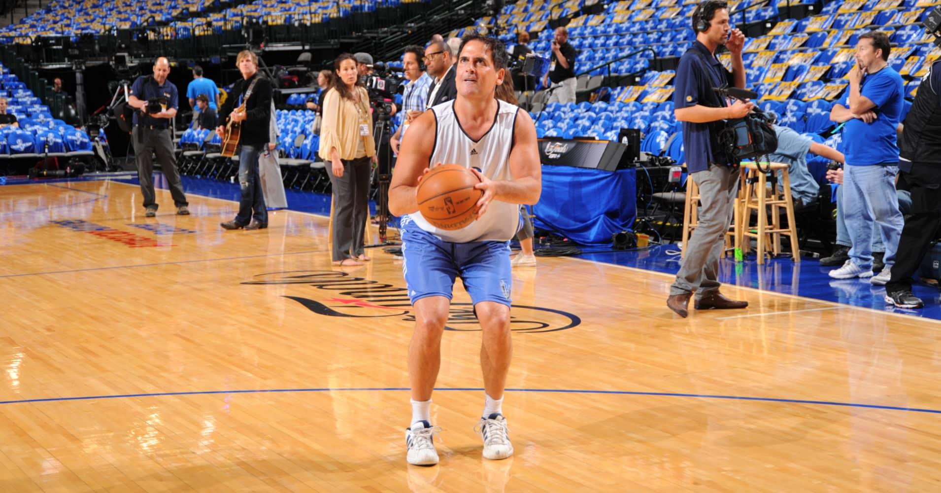 Mark Cuban, self-made billionaire and owner of the the Dallas Mavericks