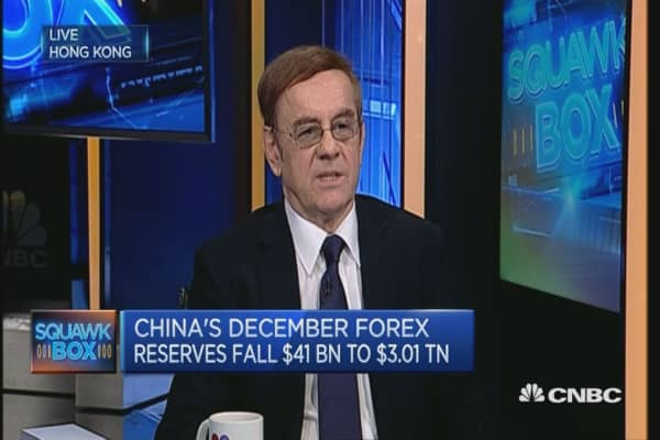 Lower China forex reserves not an issue: Expert