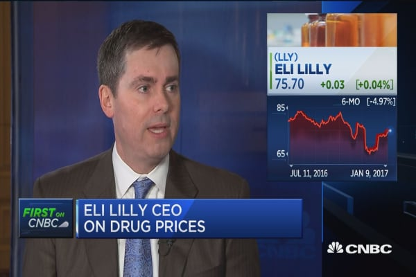 Eli Lilly CEO: Happy to work with Trump administration to solve pricing problems