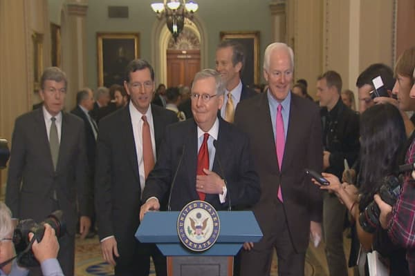 McConnell says Senate will act on Obamacare repeal this week