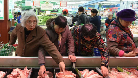 China's 2016 consumer inflation undershoots government's 3% target