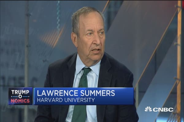 Larry Summers: Here's what worries me about Trump's tax reform plan...