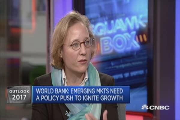 Political uncertainty is at record high levels: World Bank