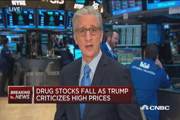 Stocks off session highs following Trump news conference
