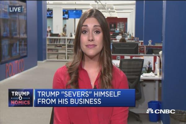 Trump is playing president his way: Palmeri