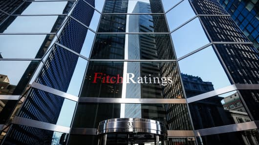 Fitch Ratings offices in New York.