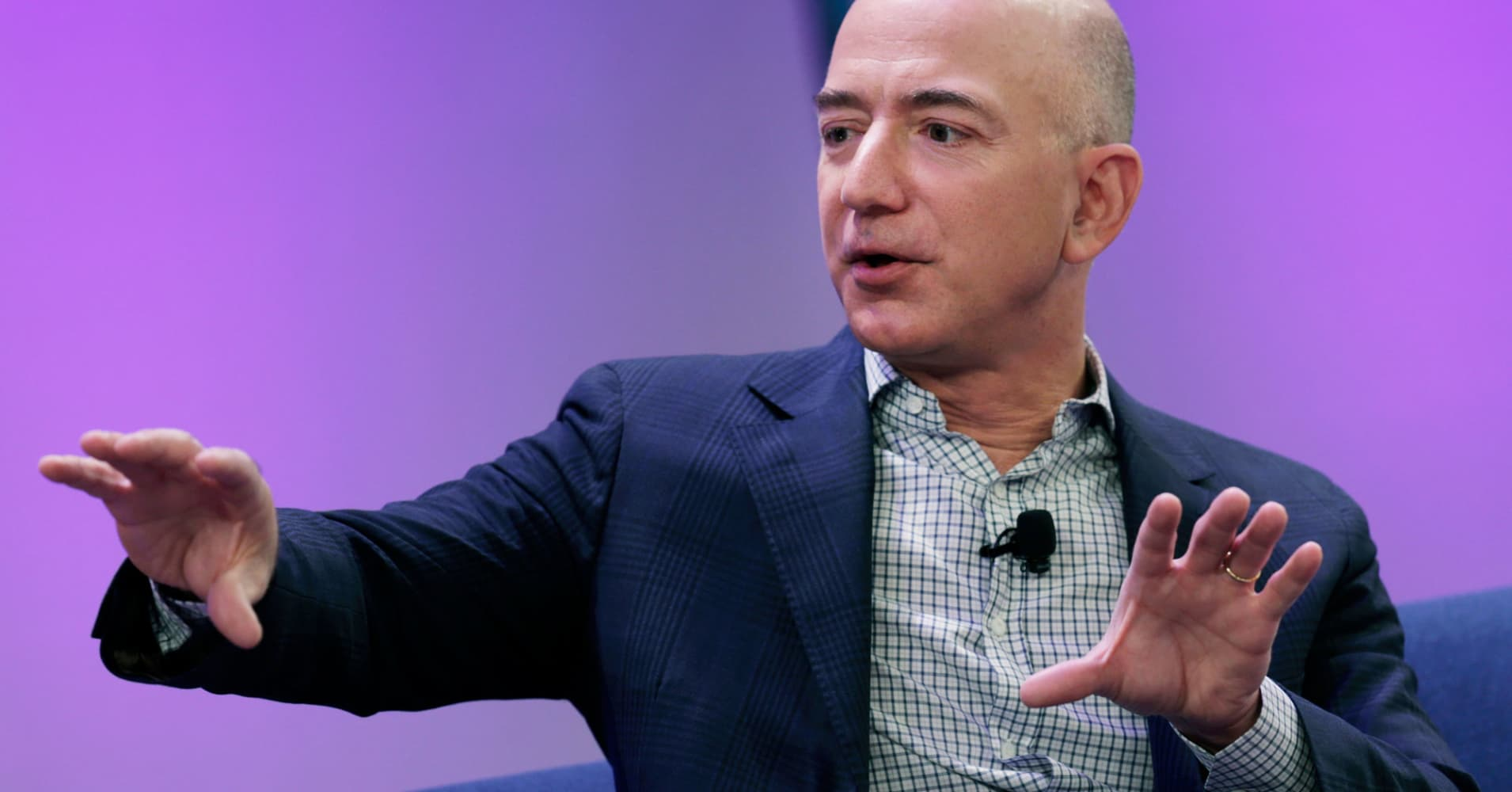 Jeff Bezos says using this phrase can make teams twice as productive