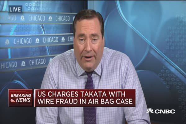 Takata will plead guilty, agrees to $1B settlement