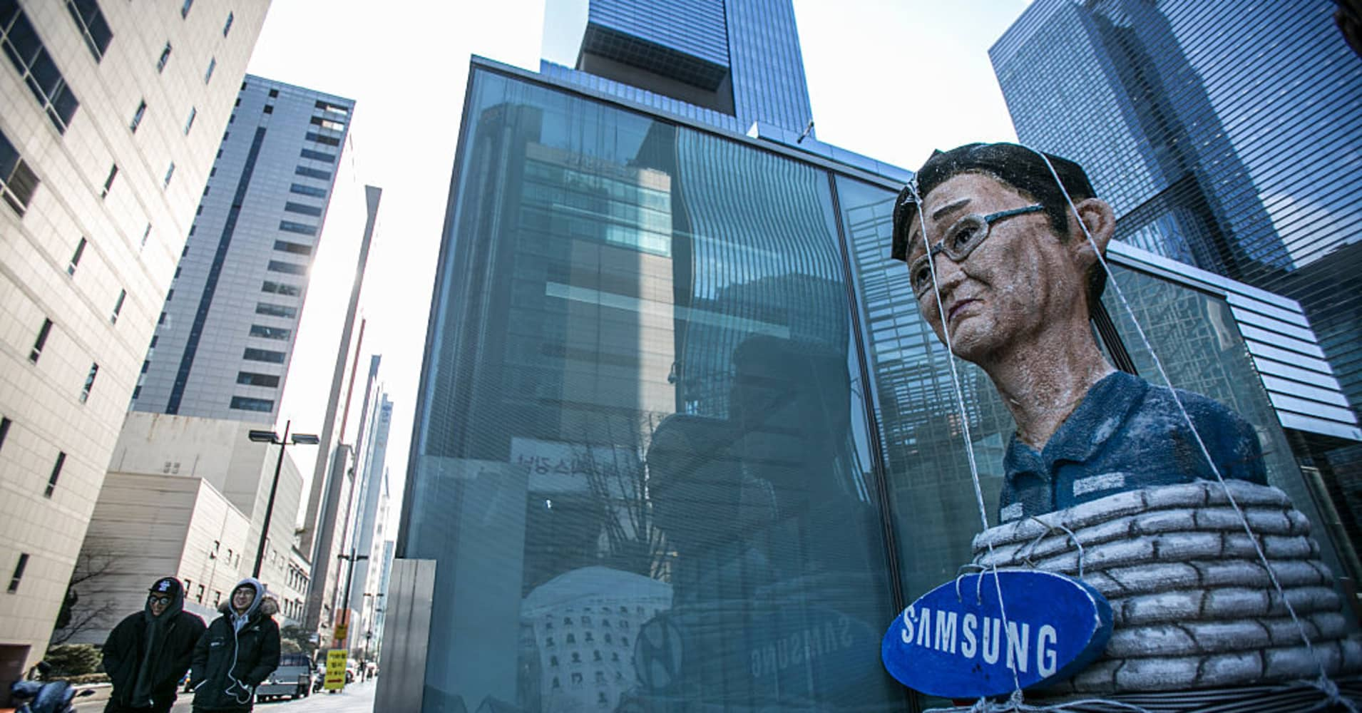 South Korea prosecutor to seek arrest warrant for Samsung Group leader JY Lee