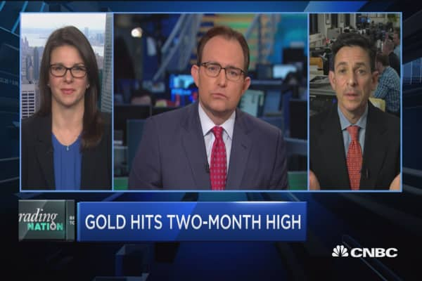 Trading Nation: Gold his 2-month high
