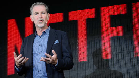 Reed Hastings, chief executive officer of Netflix Inc.