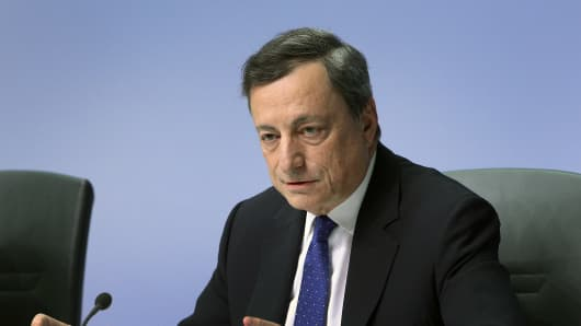 'Watershed moment' for European Central Bank  - analysts reach to Draghi's comments