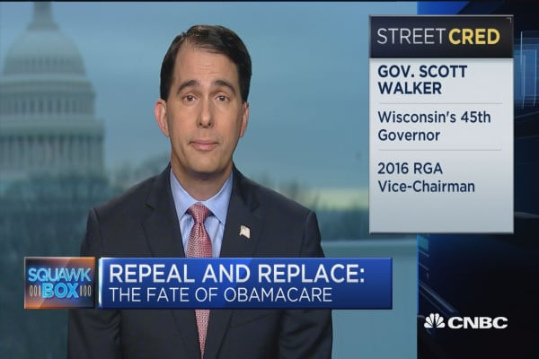 Gov. Walker: We want Obamacare repealed outright