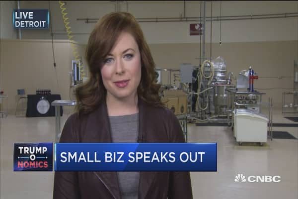 Small biz optimism on the rise