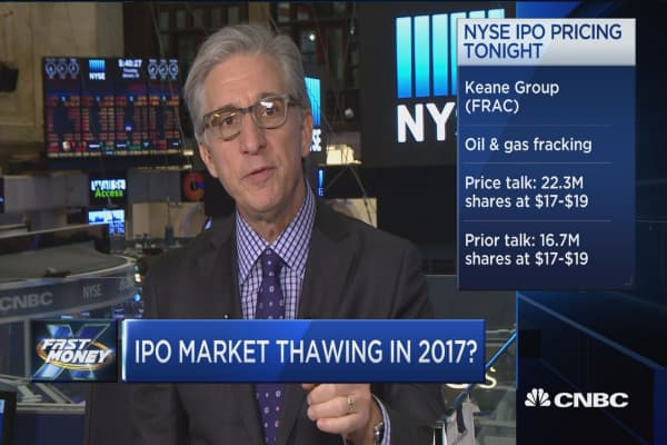 IPO market thawing in 2017?