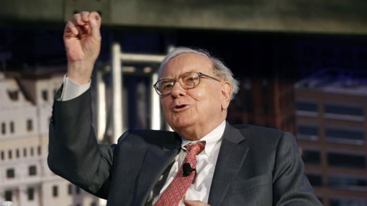 Warren Buffett, chief executive officer of Berkshire Hathaway Inc.