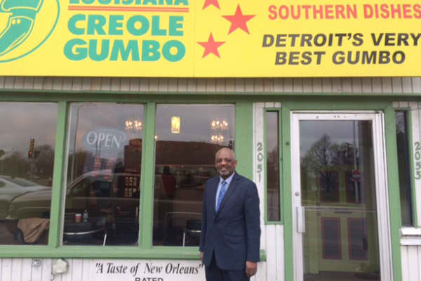 Joe Spencer has co-owned his business, Louisiana Creole Gumbo, in Detroit since 1983.