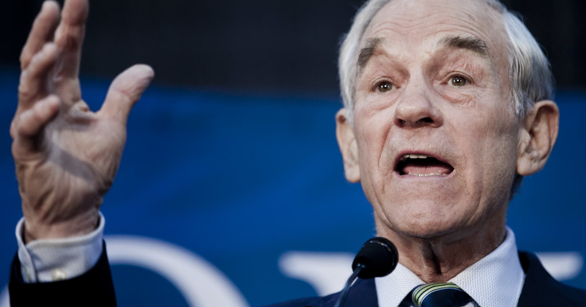 Ron Paul: The 'euphoria' in the markets has passed
