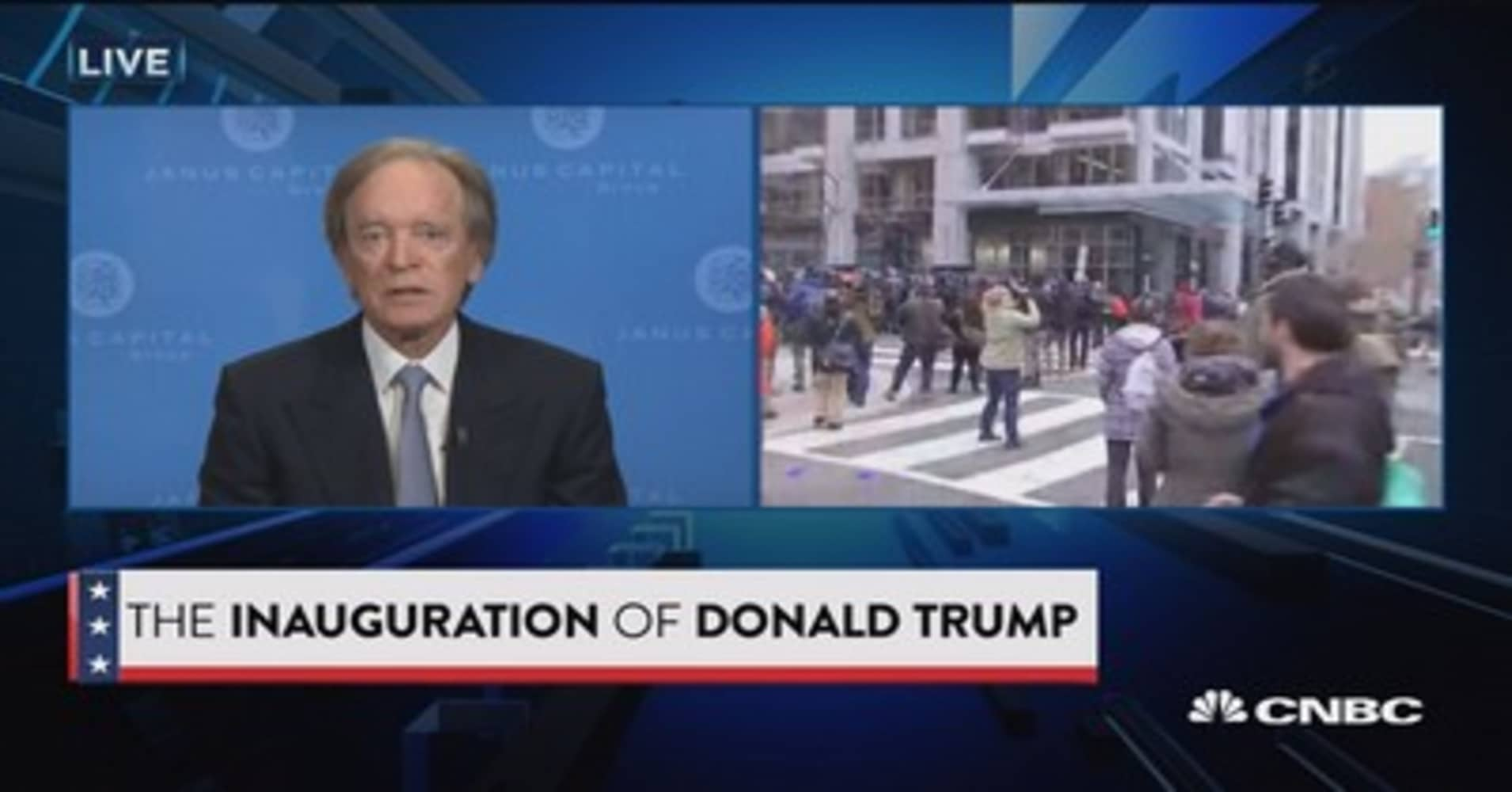 Full interview with Bill Gross on President Trump's agenda and what's needed to get economy going