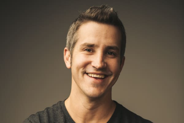 Building relationships is key to advancing in your career, says Jon Acuff (pictured).