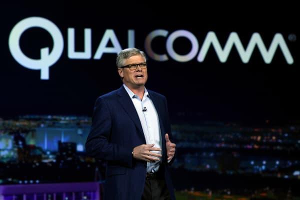 Qualcomm Inc. CEO Steve Mollenkopf.