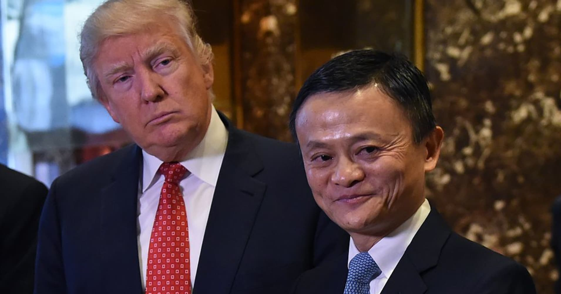 Trump's 'Buy American' policy is getting support from an unlikely place: A Chinese e-commerce giant