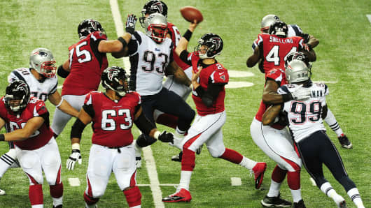The Atlanta Falcons and New England Patriots get set to face off in Super Bowl LI.