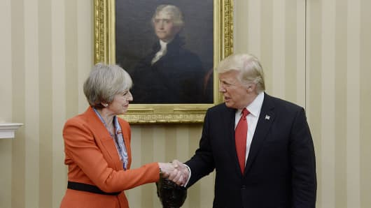 Putin, Trump express willingness to cooperate