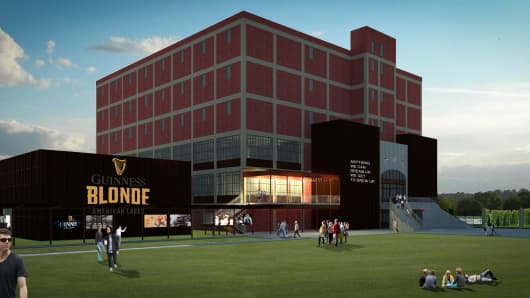 Proposed Guinness Brewing Facility to be built in Relay, Maryland.
