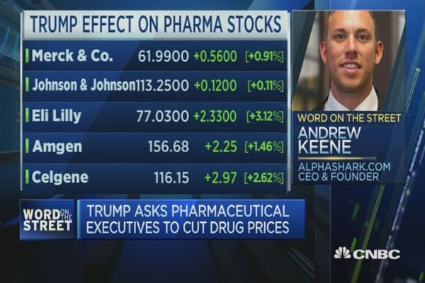 Pharma stocks get a shot in the arm