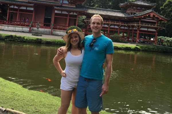 Matt and his fiancee went from living paycheck-to-paycheck to saving more than half their income