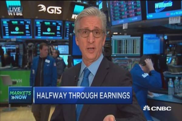 High expectations halfway through earnings