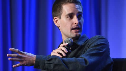 CEO and co-founder of Snapchat Evan Spiegel