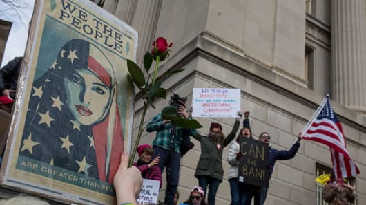 A Federal Judge Temporarily Blocked Trump's Muslim Ban