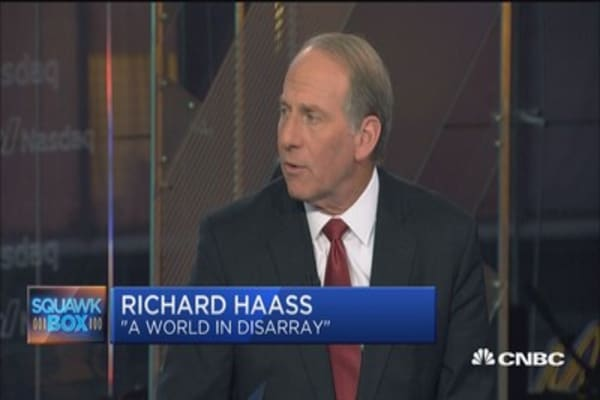 New world disorder: Richard Haass