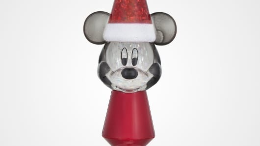 Happy Holidays! Mickey Mouse Nightlight