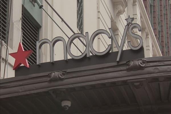 Macy's stock jumps on talk of sale