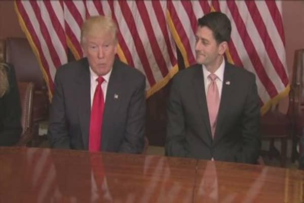 Paul Ryan says wait until spring for key bills