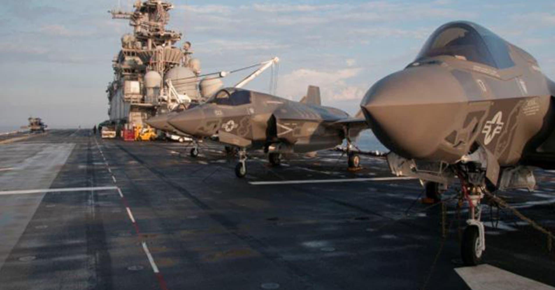 Lockheed wins $1.38 billion F-35 jet contract: Pentagon