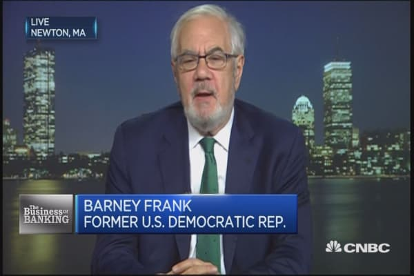 'Of course' Dodd-Frank needs reform: Barney Frank