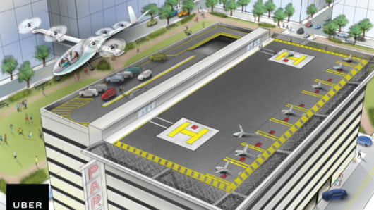 Uber hires NASA veteran to help it figure out flying cars